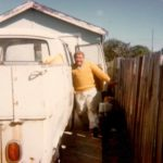 John with his beloved ute finishing for the day at Bunnerong Road, Matraville. Our office is still located here (circa 1980s)